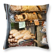 Breads For Sale Throw Pillow