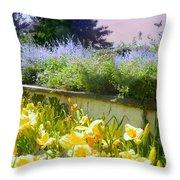 Breadth Of Summer Throw Pillow