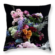 Break Into Blossom Throw Pillow