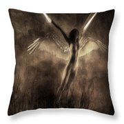Break Into Dreams Throw Pillow