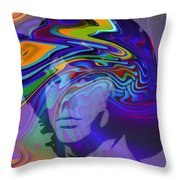 Break On Through Throw Pillow