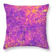 Break Through - Abstract Light Throw Pillow