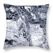 Breakdown Bw Throw Pillow