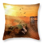 Breakdown Throw Pillow
