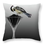 Breakfast At The Waterford Throw Pillow