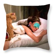 Breakfast At Tiffany's 4 Throw Pillow