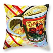 Breakfast For One Throw Pillow