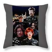 Breakfast On Arrakis Throw Pillow