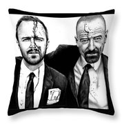 Breaking Bad 2 Throw Pillow