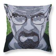 Breaking Bad, Walter White Throw Pillow