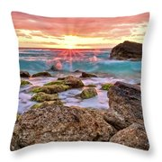 Breaking Dawn Throw Pillow by Marcia Colelli