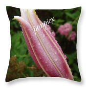 Breaking Dew Throw Pillow