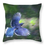 Breaking Jay Throw Pillow