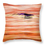 Breaking Swell Three  Throw Pillow
