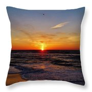 Breaking The Horizon 2 412 Throw Pillow