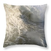 Breaking Wave Throw Pillow