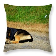Breaktime Throw Pillow