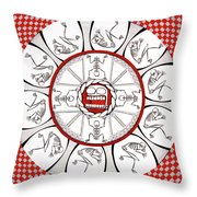 Breath Of The Beast Throw Pillow
