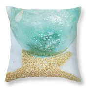 Breathe  . . .   Like Water Throw Pillow