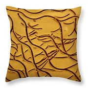 Breathe - Tile Throw Pillow