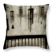 Breathe Deep The Gathering Gloom Throw Pillow