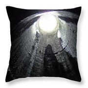 Breathe Pipe Throw Pillow