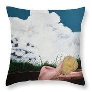 Breathing Room Throw Pillow