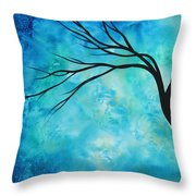 Breathless 1 By Madart Throw Pillow