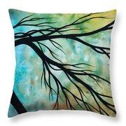Breathless 2 By Madart Throw Pillow