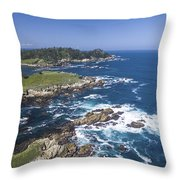 Breathtaking Blues Throw Pillow