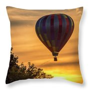 Breathtaking Hot Air Throw Pillow