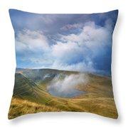 Brecon Beacons National Park 3 Throw Pillow