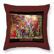 Breeders Cup Throw Pillow
