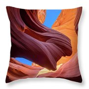 Breeze Of Sandstone Throw Pillow
