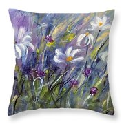 Breezing Along   Throw Pillow