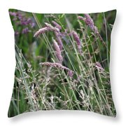 Breezy Summer 3 Throw Pillow