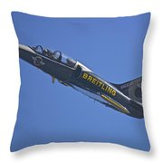 Breitling 6 Throw Pillow