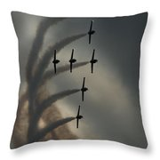 Breitling Jet Team Throw Pillow