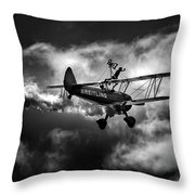 Breitling Walker 1 Throw Pillow
