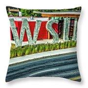 Brelsford Wsu Visitor Center Throw Pillow