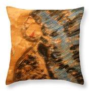 Brenda -tile Throw Pillow
