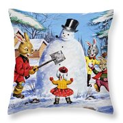 Brer Rabbit From Once Upon A Time Throw Pillow