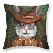 Brer Rabbit Throw Pillow