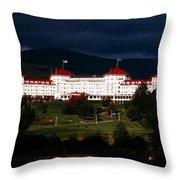 Bretton Woods Throw Pillow