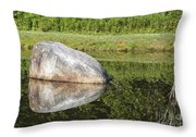 Bretzfelder Memorial Park - Bethlehem New Hampshire Throw Pillow
