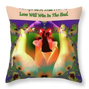 Brian Exton Give You My Love  Bigstock 164301632 12779828 Throw Pillow