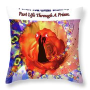 Brian Exton Love And Harmony  Bigstock 164301632  12779828 Throw Pillow