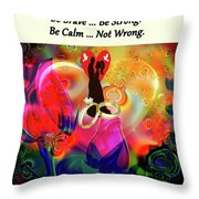 Brian Exton Love Light And Roses  Bigstock 164301632  231488 Throw Pillow