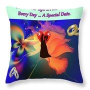 Brian Exton Orange Rose  Bigstock 164301632  2991949  12779828 Throw Pillow