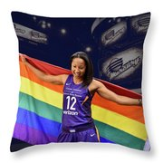 Briann January Lgbt Pride 2 Throw Pillow